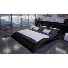 Led Bed Frame Modena Faux Leather Led Bed Next Day Delivery Modena Faux