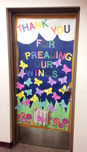 door decorations appreciation door decorating paging supermom