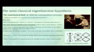 quantum ergodicity for the uninitiated zeev rudnick youtube