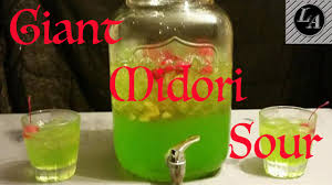 giant cocktail giant midori sour lethal alcoholics youtube