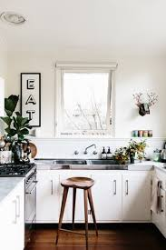 white kitchen no cabinets kitchen trend no cabinets emily a clark