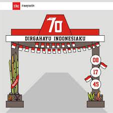 desain warna gapura dirgahayu indonesiaku hellomotion com