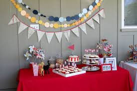 Birthday Table Decorations by Simple Birthday Party Decoration Ideas Decorating Of Party