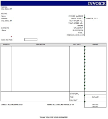 blank invoice template blank invoice template doc 28 images