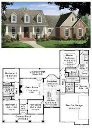 one story house blueprints 42 best house plans 1500 1800 sq ft images on small
