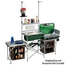 Outdoor Camping Sink Station by Gander Mountain U003e Gander Mountain Deluxe Camp Kitchen Camping