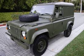 land rover defender diesel land rover defender 90 light utility truck diesel rhd 5 speed 86k