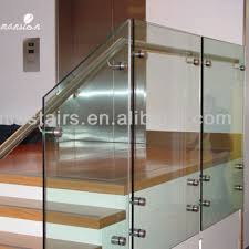 Glass Stair Handrail Interior Side Wall Mounted Glass Stair Handrail Design Buy Stair
