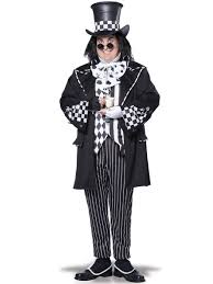 mens plus size dark mad hatter costume alice in wonderland mens