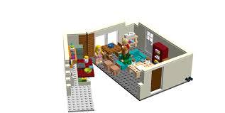 lego ideas the big bang theory scene 2