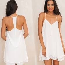 white chiffon dress plus size pluslook eu collection