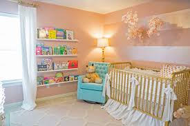 sophie u0027s pink and gold nursery project nursery