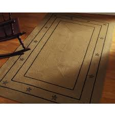 agreeable primitive area rugs country style braided jute checker