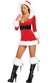 santa dress santas hooded dress christmas costume christmas costumes