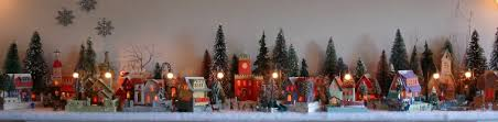 christmas houses official archive of papa ted s putz house pages
