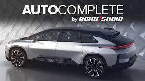 Tesla Minivan Autocomplete Faraday Future Unveils First Production Car As