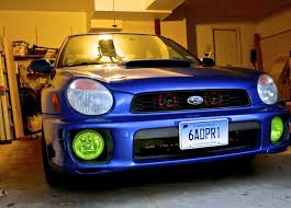subaru light green ordered yellow foglight vinyl and it ended up being lime green