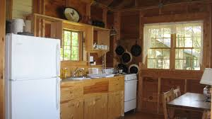 Lodge Kitchen by Pine Lodge Hiram Blake Camp