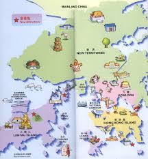 map attractions hongkong attractions map