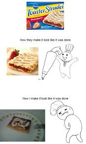 Toaster Strudel Meme - toaster strudel dilemma the meta picture