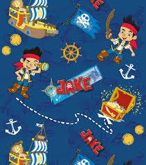 Map Fabric Disney Jake U0026 The Never Land Pirates Map Cotton Fabric Joann
