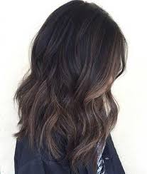 high lighted hair with gray roots top balayage hairstyles for black hair