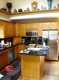 Painted Oak Kitchen Cabinets 19 Best Painted Oak Cabinets Images On Pinterest Painted Oak