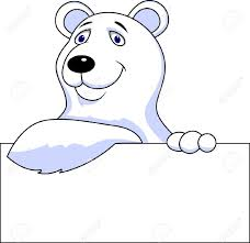 tundra clipart polar bear pencil and in color tundra clipart