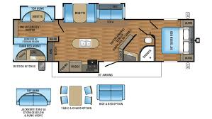 jayco jay flight 33rbts travel trailer floor plan