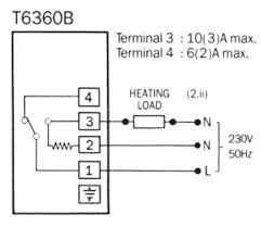 honeywell room thermostat wiring diagram 28 images honeywell