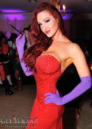 Rabbit Halloween Costume Gia Macool U0027s Custom Designed Jessica Rabbit Halloween Costume