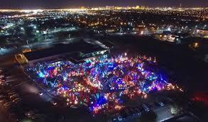 ethel m chocolate factory las vegas holiday lights 11 best christmas light displays in nevada 2016