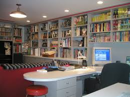 attractive design diy home library that has wooden floor can be