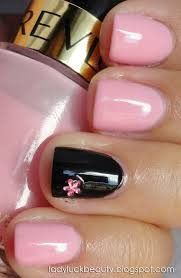 Ideas For Black Pink And Best 25 Pink Black Nails Ideas On Pinterest Black Nail Tips