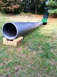 rail or tube pipe for winter backyard settup ski gabber