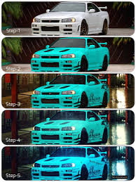 Nissan Gtr R34 - 5 step build of nissan skyline gtr r34 by net zone network on