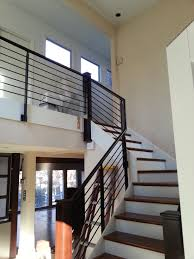 Modern Stair Banister Modern Stairs Custom Welding Wood Pro Custom Stair Installations