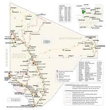 africa map kalahari transfrontier park tour map kalahari safaris kgalagadi