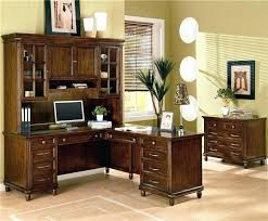 Black Desk Office Wood Desk Bethebridge Co
