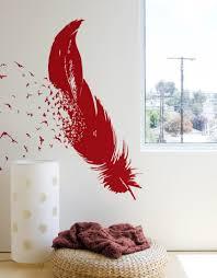 birds a feather wall decal u2013 blik
