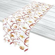 cheap coral table runners nautical table runner coral lattice table runner nautical table