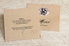 remerciement mariage original carte remerciement mariage baroque kraft tadaaz