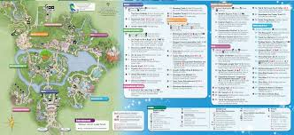 Disney World Magic Kingdom Map Walt Disney World Maps For Theme Parks Resorts Transportation