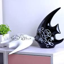 china ceramics kissing lovers fish ceramic crafts home decor