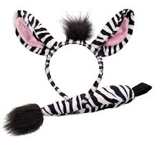 mens womens boys girls zoo farm animal ears tail book week