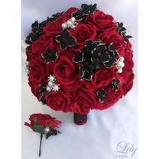 real black roses black glitter real touch calla lilies helen roses
