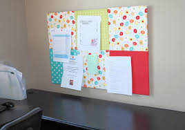 Office Wall Decorating Ideas Decorating Ideas Gorgeous Pink And Blue Barbie Fabric Cork Board