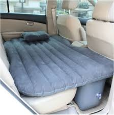 inflatable air mattress beds for car suv backseat or truck bed