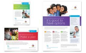 medical insurance flyer u0026 ad template word u0026 publisher