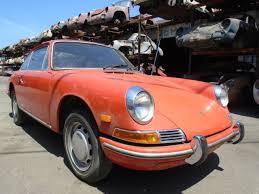 porsche 911 for sale in usa 1968 porsche 911 usa coupe karmann project car sportomatic